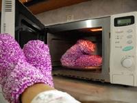Ayağı Üşüyenler İçin Fırında Çorap