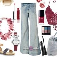 Yazlık Jeans Kombinleri