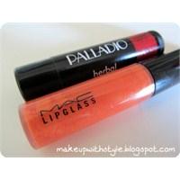 Palladio Sangria Lip Balm & Mac Kumkuat Lipglass