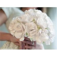 Gelin Çiçeği Yapılışı,kağıt Gül Yapılışı