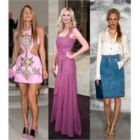 Paris Haute Couture Moda Haftasında Ünlüler