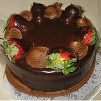 Çikolatalı Yuvarlak Pasta Tarifi
