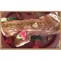 Ağaç Kütük Pasta Yapımı