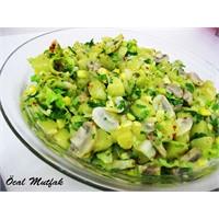 Mantarlı,patates Salatası