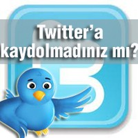 Twitter'a Kaydolmadınız Mı?