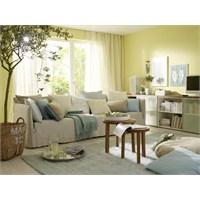 Oturma Odasında Akdeniz Tarzı Dekorasyon