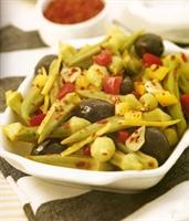 Bamya Salatası