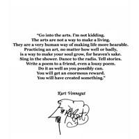 Kurt Vonnegut'tan Sanat Üzerine...