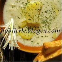 Kremalı Patates Çorbası...