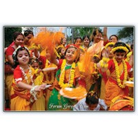 Holi Festivali ( Renklerin Festivali ) Hindistan