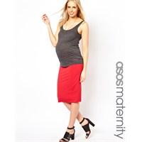 Hamile Giyimde Renkli Etek Modası
