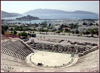 Bodrum Antik Tiyatro nun Tarihi