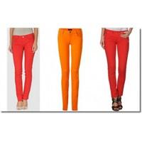 Jean'lerde Yeni Trend.. Fosforlu Renkler