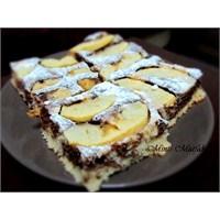 Elmalı Kakaolu Kek
