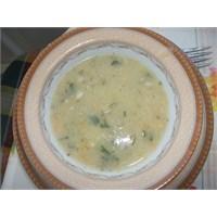 Sütlü Alabalık Çorbası