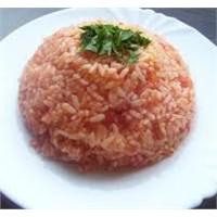 Lezzetli Domatesli Pirinç Pilavı
