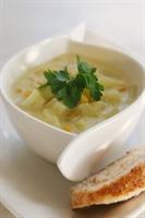 Patates Ve Mısır Çorbası