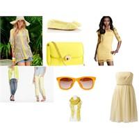 Sezon Renkleri Dosyası: Sarı