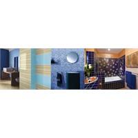 Mavi Renk Banyo Dekorasyonu