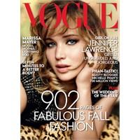 Kapak Kızı: Jennifer Lawrence - Vogue Us Eylül