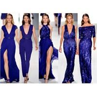 2013 Gece Mavisi Elbise Modelleri