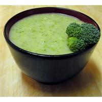 Pratik Kremalı Brokoli Çorbası