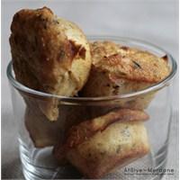 Peynirli Jambonlu Mini Dukan Kekleri
