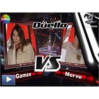 O Ses Türkiye – Düello : Gamze & Merve