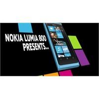 Nokia Lumia 800 4d Tanıtımı