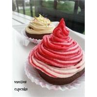 Vanilinsten Cupcake