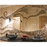 Asimetrik Aynalarla Modern Banyolar