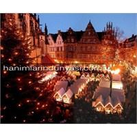 Almanya Münster'da Ki Meşhur Noel Pazarı