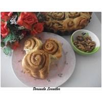 Haşhaşlı Cevizli Tarçınlı Çörek