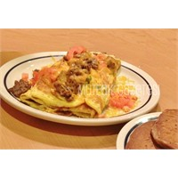 Biftekli Omlet