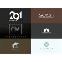 Fotoğrafçılar İçin Logo Tasarım Örnekleri