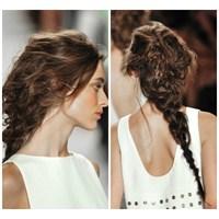 2014 İlkbahar Yaz Saç Örgüsü Modelleri
