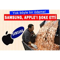 Samsung'dan Apple'a Ayar