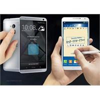 Samsung Galaxy Note 3 Mü Yoksa Htc One Max Mı?