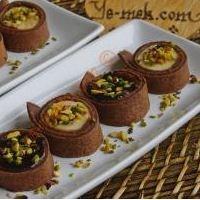 Kakaolu Krep İle Muzlu Tatlı (Krep Ustasından)