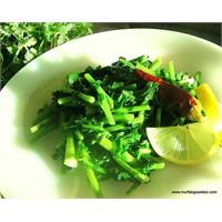 Yabani Turp Otu Salatası