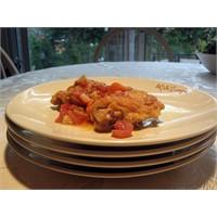 Sebzeli tavuk / Chicken Cacciatore