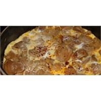 Yumurtalı Kuru Patates Kavurması