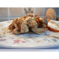Mantarlı Ve Sebzeli Tavuk