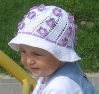 Yazlık Bebek Sapkası