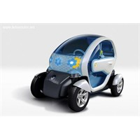Renault'dan Elektrikli Araba - Twizy Z.E.