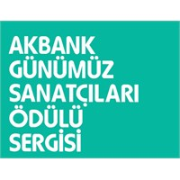 ' Akbank Günümüz Sanatçıları Ödülü 2013' Sergisi
