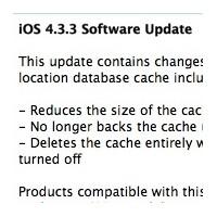 İphone Ve İpad İçin İos 4.3.3 Yazılım Güncellemesi