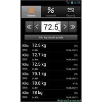 Fitdroid Kilo Takibi Uygulaması İle Kilonuzu Takip