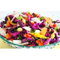 Rengarenk Karışık Kış Salatası