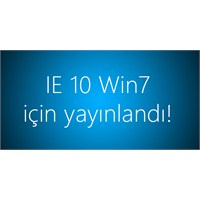 Windows 7 İçin İe10 Final Yayınlandı!